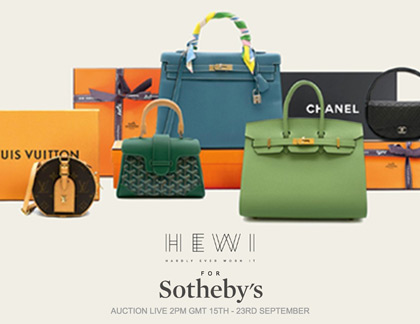 Sotheby's Bags Auction