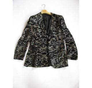 GUCCI silk brocade mens jacket