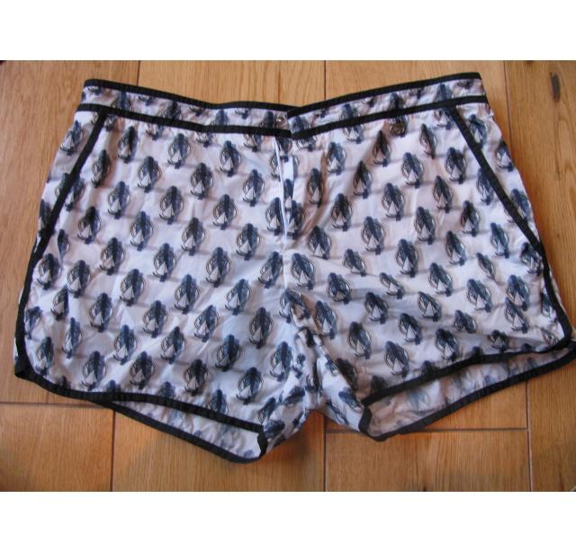 Gucci sailship swim shorts