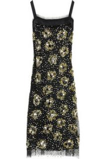 Milly Sequinned Shift Dress
