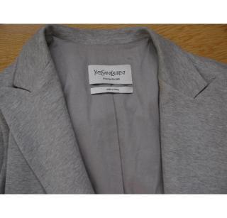 YSL grey waistcoat