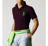 RALPH LAUREN RL BIG PONY POLO L BNWT BURGUNDY C