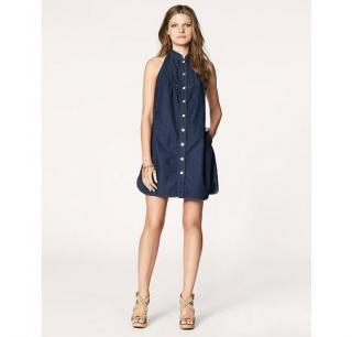 JUICY COUTURE DENIM MINI DRESS