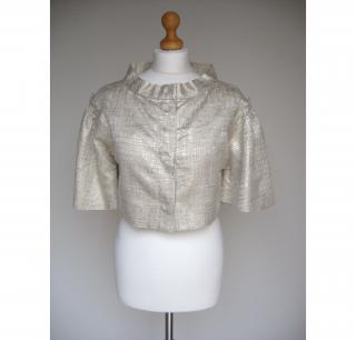By Malene Birger Pale Gold Evening Jacket UK12