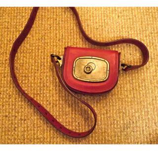 Celine fuchsia shoulder bag