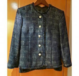 Theyskens Theory Frey Metallic Jacket