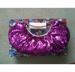 Philip Treacy clutch bag