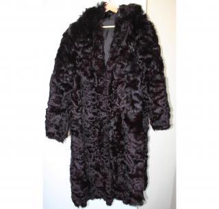 Vintage Mongolian Fur Coat