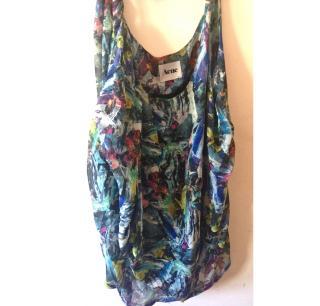 ACNE silk dress