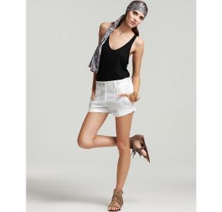 THEORY white shorts