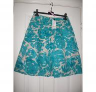 LK Bennett Mirage Skirt in Aquamarine UK 10