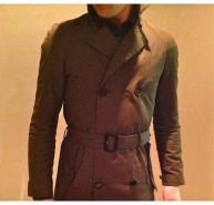 Mens Burberry Prorsum Trench
