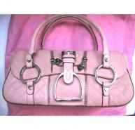 Luella pink leather handbag