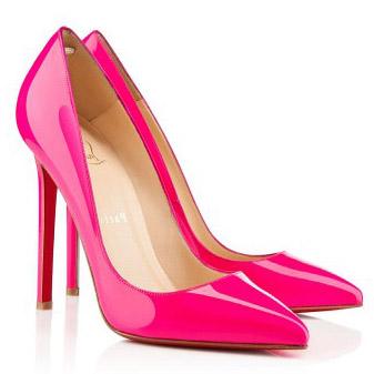 hot pink louboutin heels