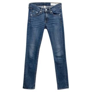 Rag & Bone Capri Skinny Denim Jeans