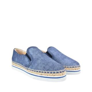 Jimmy Choo Dawn Denim Espadrilles