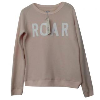 Zoe Karssen Neutral 'ROAR' Terry Sweatshirt