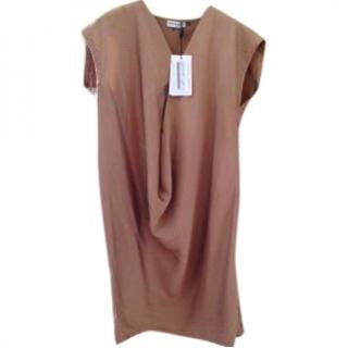 Vionnet silk tunic dress