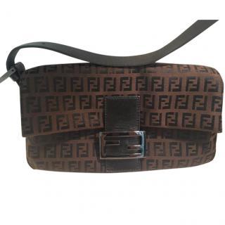 Fendi Monogramme Brown Bag