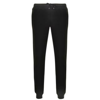 Moncler Black cotton jogging trousers