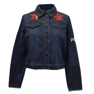 Pop.See.Cul Glory Box Embellished Denim Jacket