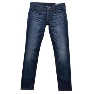 Rag and Bone Dre Washed Dark Denim Jeans