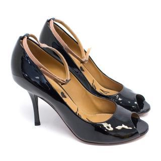 Lanvin Black Patent Leather Pumps