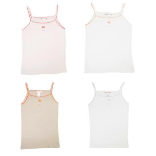 Bonpoint Kids Four Cotton Vests