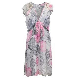 Milly Silk Patterned Dress