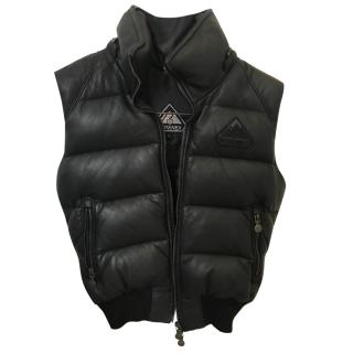 Pyrenex Leather Gilet