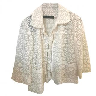 Elie Saab Macrame Lace Jacket