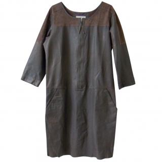 Humanoid Leather & Suede Dress