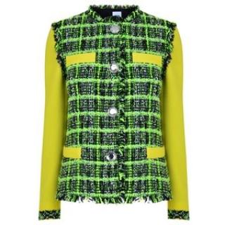Moschino Cheap and Chic Neon Boucle Jacket