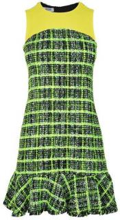 Moschino Cheap and Chic Neon Boucle Dress