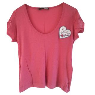Love Moschino Pink Top