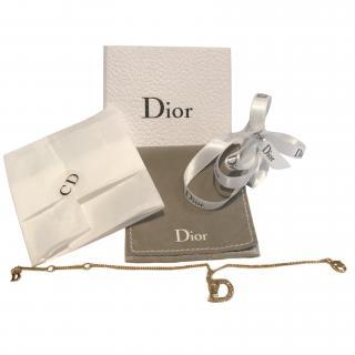 Dior 9ct gold plated bracelet