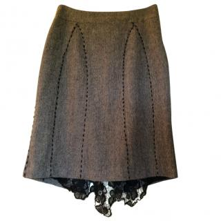 Calvin Klein Wool Skirt