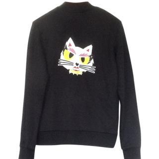 Karl Lagerfeld Black Choupette Cat Jacket