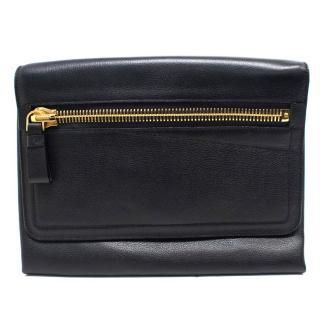 Tom Ford Black Leather Clutch