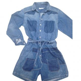 See by Chloe Denim Jumpsuit