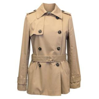 Joseph Tan Short Trench Coat