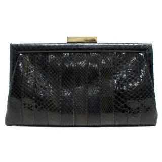 Anya Hindmarch Snake Skin Clutch Bag