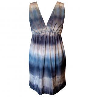 Adam Lippes Digital Print Mini Dress