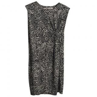Diane Von Furstenberg black & white dress
