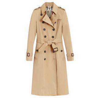Burberry The Chelsea Extra-Long Heritage Trench Coat
