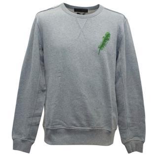 Alexander McQueen Men's Grey Sweatshirt