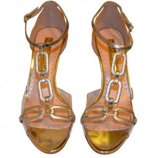 Rupert Sanderson Silver Sandals
