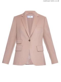 Max Mara Balbo wool and angora blend jacket