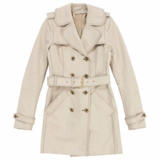 Balenciaga Beige Trench Coat