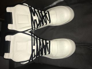 Rick Owens White Sneakers